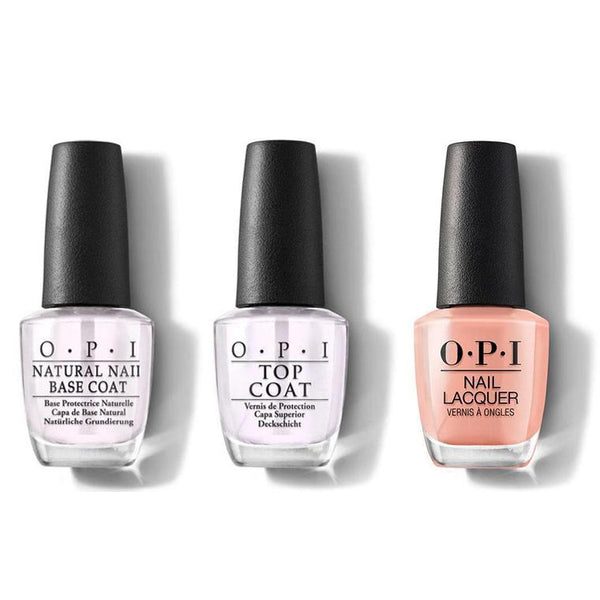 OPI - Nail Lacquer Combo - Base, Top & A Great Opera-tunity 0.5 oz - #NLV25-Beyond Polish
