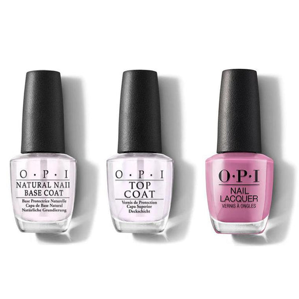 OPI - Nail Lacquer Combo - Base, Top & Arigato from Tokyo 0.5 oz - #NLT82-Beyond Polish