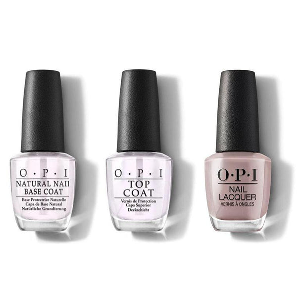 OPI - Nail Lacquer Combo - Base, Top & Berlin There Done That 0.5 oz - #NLG13-Beyond Polish