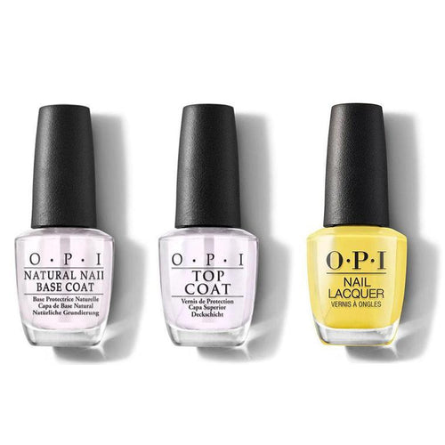 OPI - Nail Lacquer Combo - Base, Top & Don't Tell A Sol 0.5 oz - #NLM85-Beyond Polish