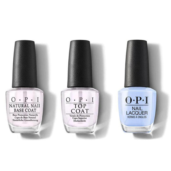 OPI - Nail Lacquer Combo - Base, Top & Dreams Need Clara-Fication 0.5 oz - #NLHRK03-Beyond Polish