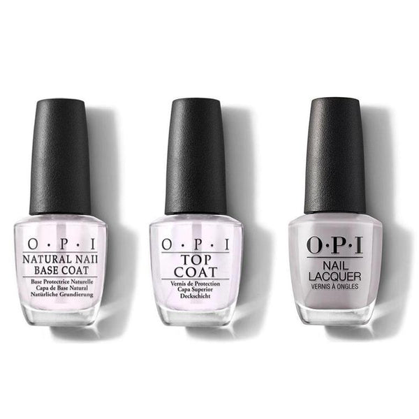 OPI - Nail Lacquer Combo - Base, Top & Engage-meant to Be 0.5 oz - #NLSH5-Beyond Polish
