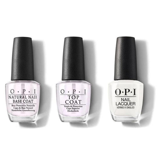 OPI - Nail Lacquer Combo - Base, Top & Funny Bunny 0.5 oz - #NLH22-Beyond Polish