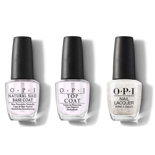 OPI - Nail Lacquer Combo - Base, Top & Happy Anniversary! 0.5 oz - #NLA36-Beyond Polish