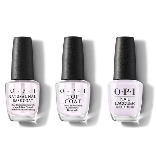 OPI - Nail Lacquer Combo - Base, Top & Hue Is The Artist? 0.5 oz - #NLM94-Beyond Polish