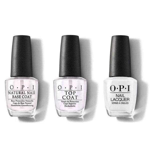 OPI - Nail Lacquer Combo - Base, Top & I Cannoli Wear OPI 0.5 oz - #NLV32-Beyond Polish