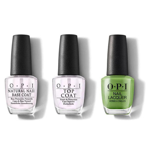 OPI - Nail Lacquer Combo - Base, Top & I'm Sooo Swamped! 0.5 oz - #NLN60-Beyond Polish