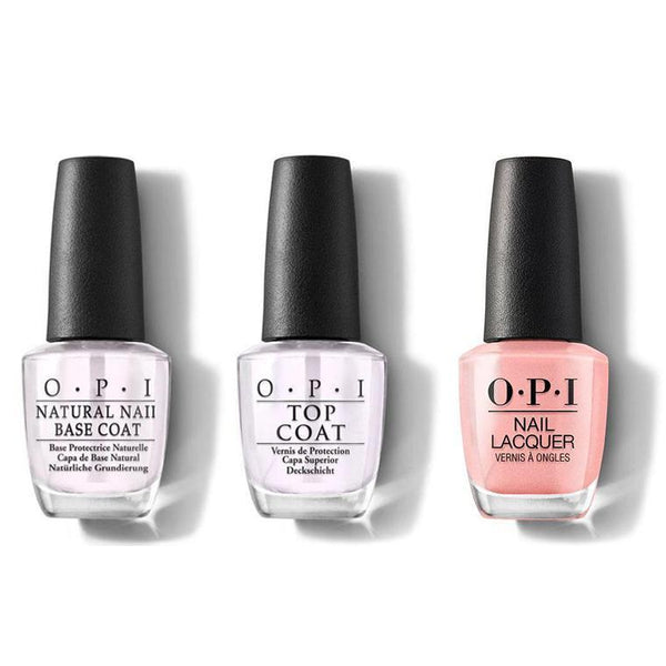 OPI - Nail Lacquer Combo - Base, Top & Italian Love Affair 0.5 oz - #NLI27-Beyond Polish