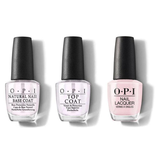 OPI - Nail Lacquer Combo - Base, Top & Let Me Bayou a Drink 0.5 oz - #NLN51-Beyond Polish