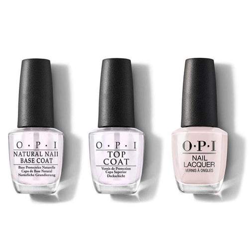 OPI - Nail Lacquer Combo - Base, Top & Lisbon Wants Moor OPI 0.5 oz - #NLL16-Beyond Polish