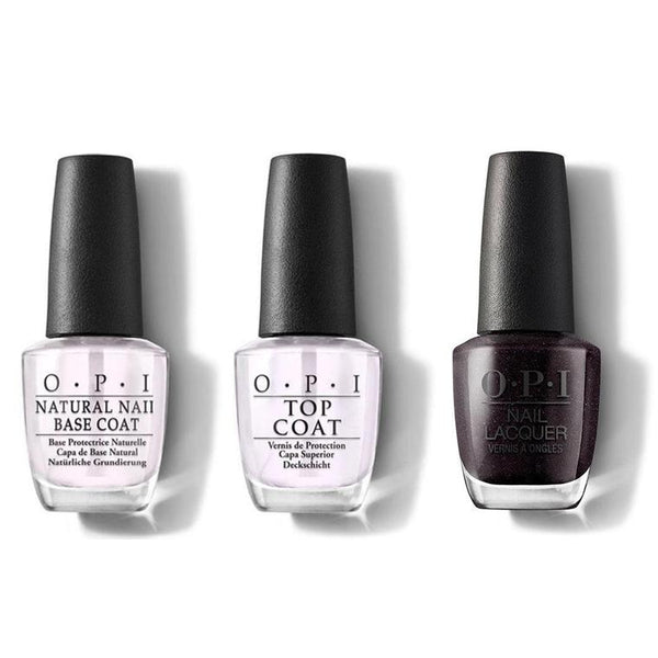OPI - Nail Lacquer Combo - Base, Top & My Private Jet 0.5 oz - #NLB59-Beyond Polish