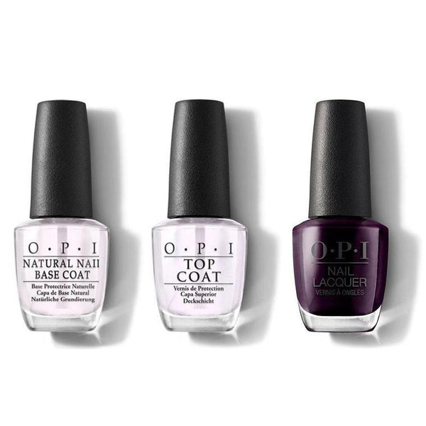 OPI - Nail Lacquer Combo - Base, Top & O Suzi Mio 0.5 oz - #NLV35-Beyond Polish