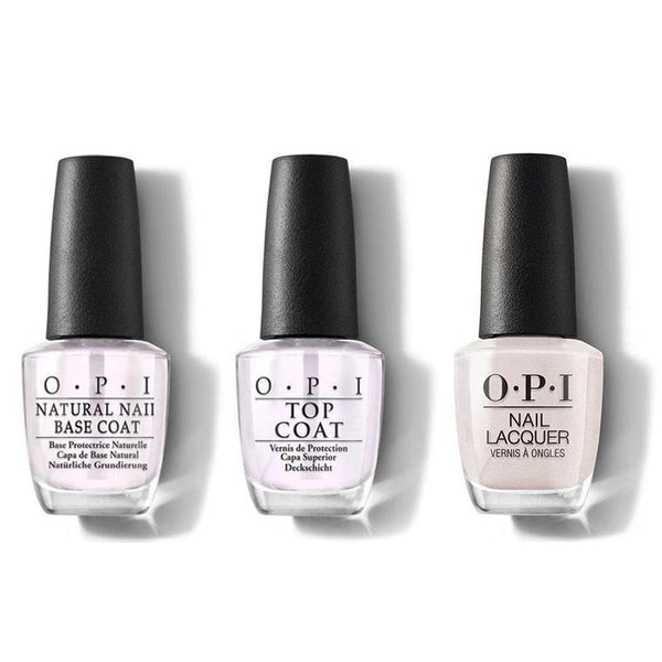 OPI - Nail Lacquer Combo - Base, Top & Shellabrate Good Times! 0.5 oz - #NLE94-Beyond Polish
