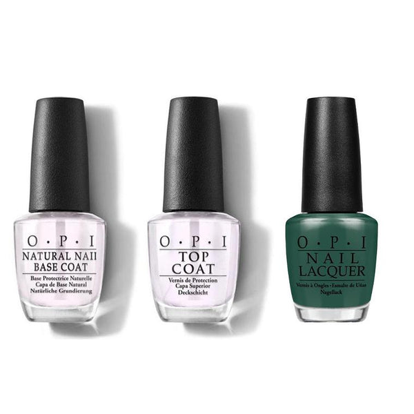OPI - Nail Lacquer Combo - Base, Top & Stay Off the Lawn!! 0.5 oz - #NLW54-Beyond Polish