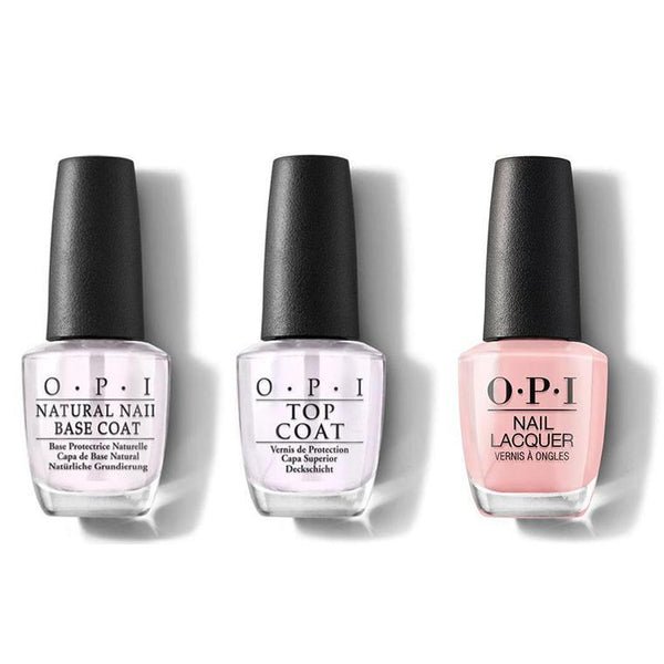 OPI - Nail Lacquer Combo - Base, Top & Tagus in That Selfie! 0.5 oz - #NLL18-Beyond Polish