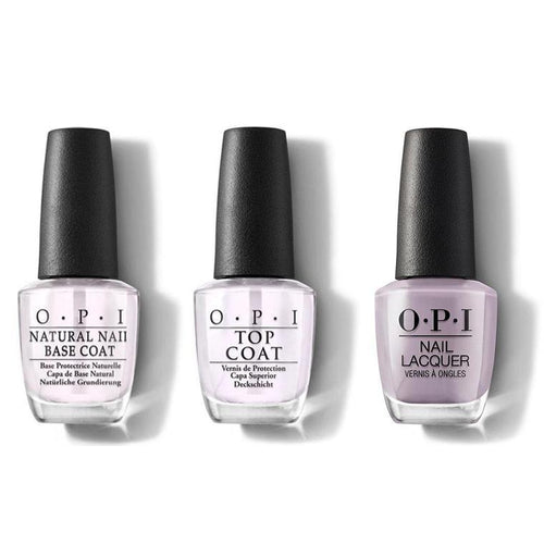 OPI - Nail Lacquer Combo - Base, Top & Taupe-less Beach 0.5 oz - #NLA61-Beyond Polish