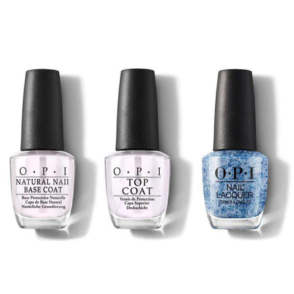 OPI - Nail Lacquer Combo - Base, Top & You Little Shade Shifter 0.5 oz - #NLC80-Beyond Polish