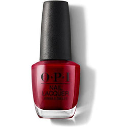OPI Nail Lacquer - Danke-Shiny Red 0.5 oz - #NLG14-Beyond Polish