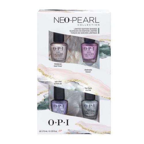 OPI Nail Lacquer - Neo Pearl Mini 4-Pack-Beyond Polish