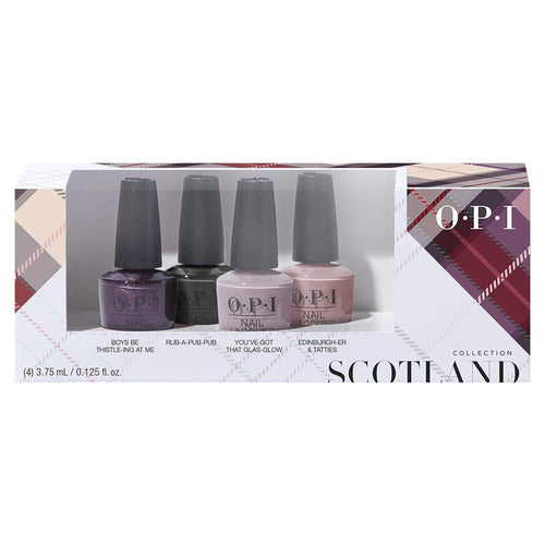OPI Nail Lacquer - Scotland Nail Lacquer 4PC Mini Pack-Beyond Polish