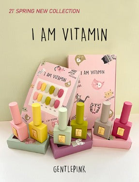 GENTLE PINK - I Am Vitamin Spring 2021 Collection