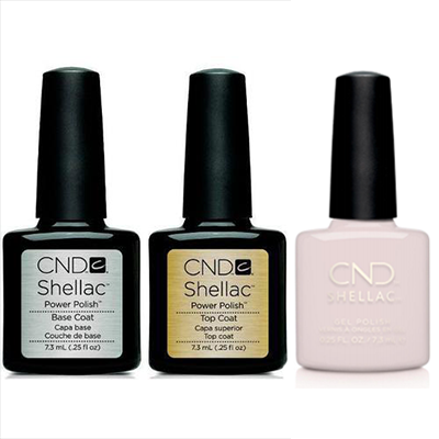 CND - Shellac Combo - Base, Top & Mover & Shaker