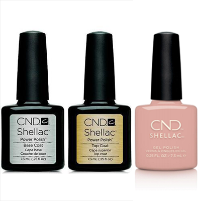 CND - Shellac Combo - Base, Top & Self-Lover