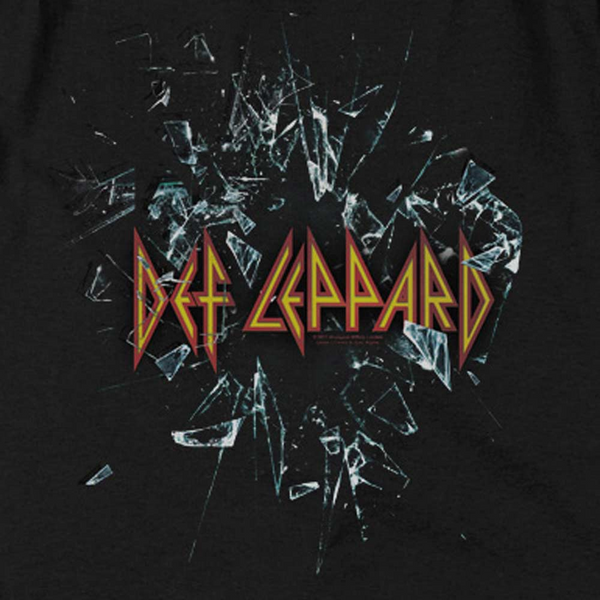 DEF LEPPARD Deluxe Sweatshirt, Broken Glass