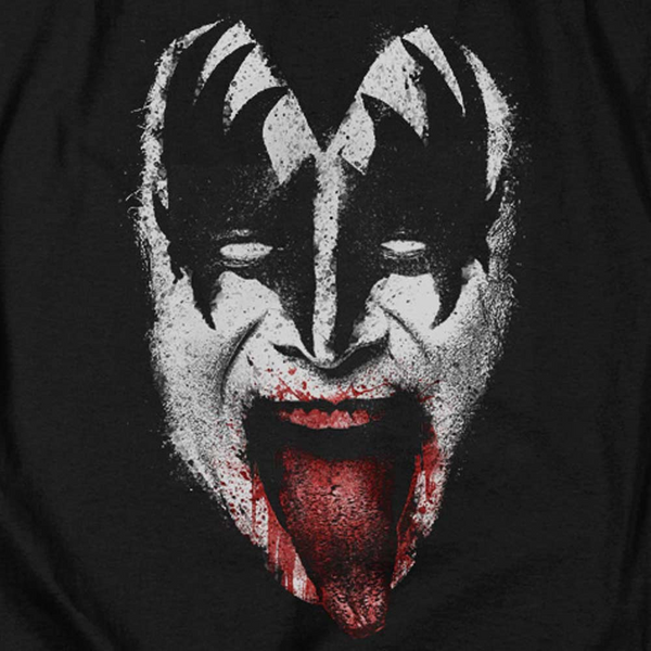 KISS Deluxe T-Shirt, Demon Gene Simmons