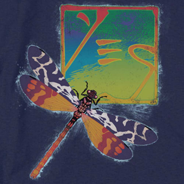 YES Impressive Long Sleeve T-Shirt, Dragonfly