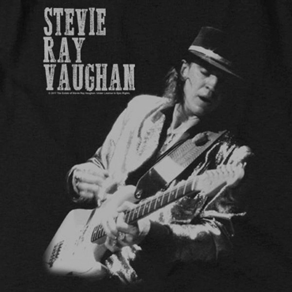 STEVIE RAY VAUGHAN Deluxe Sweatshirt, Live on Stage