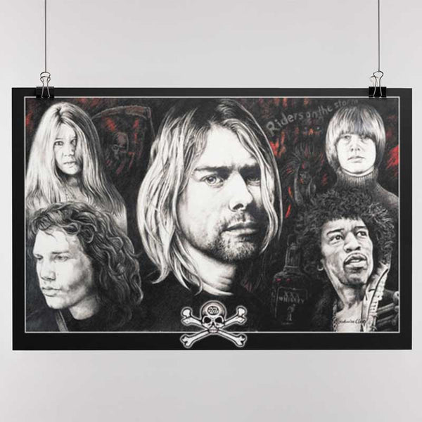 27 CLUB Gorgeous Poster, Members