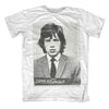 ROLLING STONES Top Notch T-Shirt, Mick Jagger Mugshot