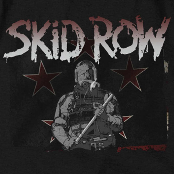 SKID ROW Impressive Long Sleeve T-Shirt, Unite World Rebellion