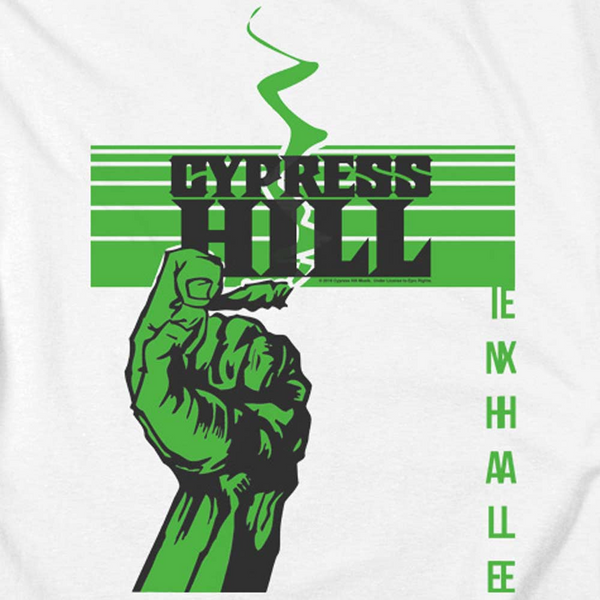CYPRESS HILL Impressive T-Shirt, Inhale Exhale