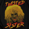 TWISTED SISTER Impressive Hoodie, Twisted Scream