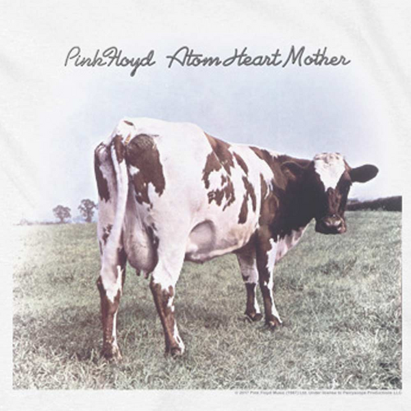 PINK FLOYD Deluxe Sweatshirt, Atom Heart Mother