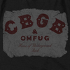 CBGB Impressive Long Sleeve T-Shirt, Crumbled Logo