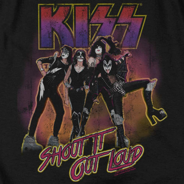 KISS Deluxe Sweatshirt, Shout It Out Loud