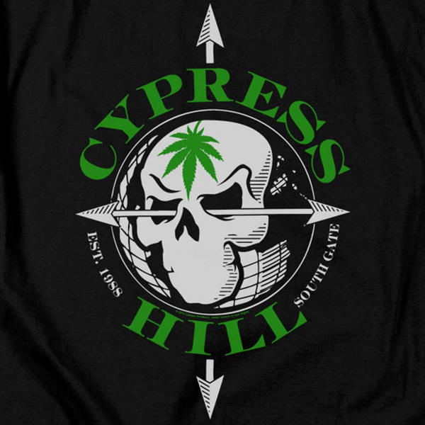 Premium CYPRESS HILL Hoodie, Skull and Arrows