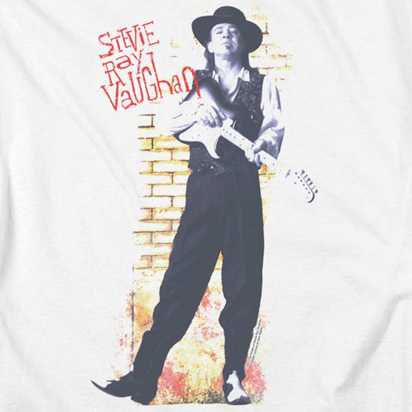 STEVIE RAY VAUGHAN Impressive T-Shirt, Standing Tall