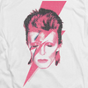 DAVID BOWIE Impressive Long Sleeve T-Shirt, Aladdin Sane