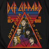 DEF LEPPARD Impressive Long Sleeve T-Shirt, Hysteria Tour
