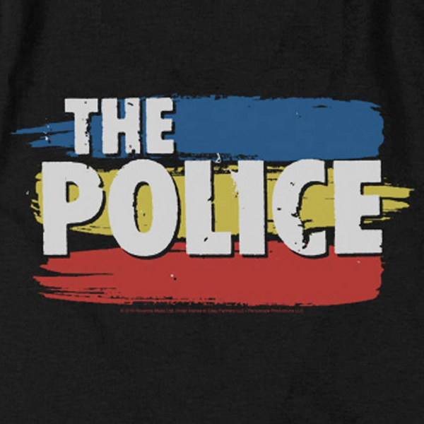 THE POLICE Impressive Tank Top, Stripes Logo