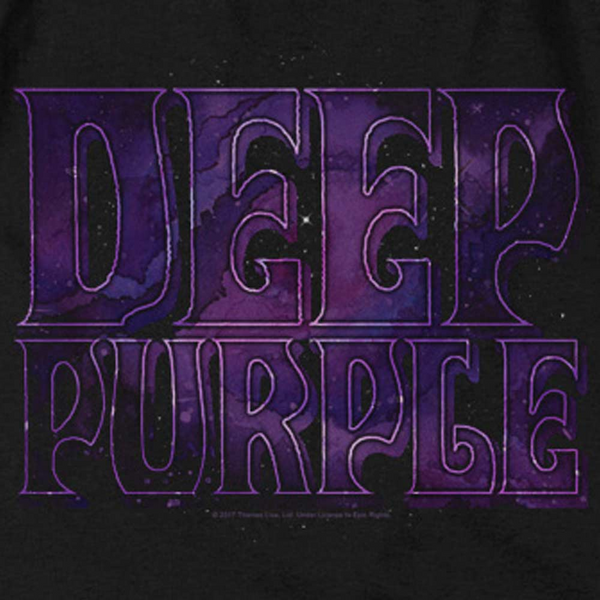 DEEP PURPLE Impressive Hoodie, Purple Mystic Logo