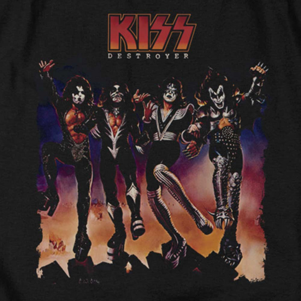 KISS Deluxe Sweatshirt, Destroyer Album Cover