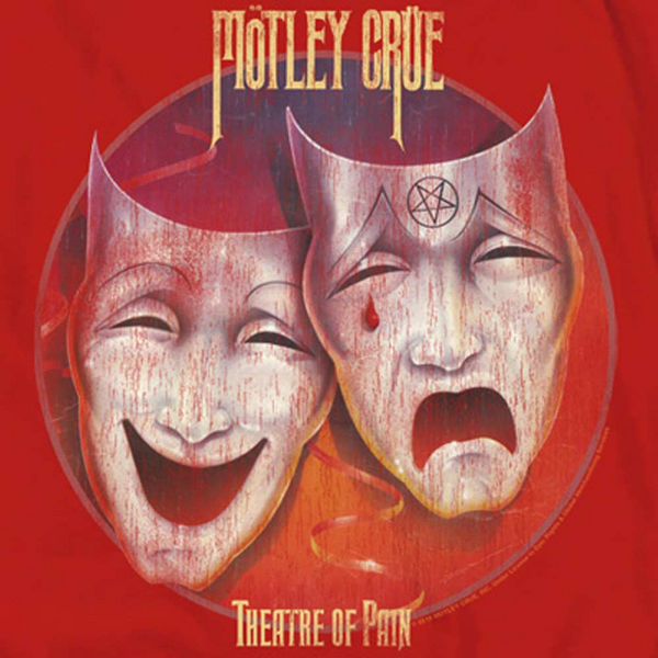 MOTLEY CRUE Impressive T-Shirt, Theatre of Pain