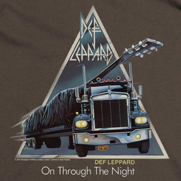DEF LEPPARD Impressive Hoodie, On Through The Night