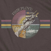 PINK FLOYD Impressive Charcoal T-Shirt, Welcome To The Machine