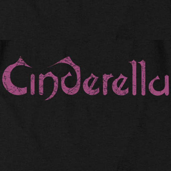 CINDERELLA Impressive Long Sleeve T-Shirt, Distressed Logo